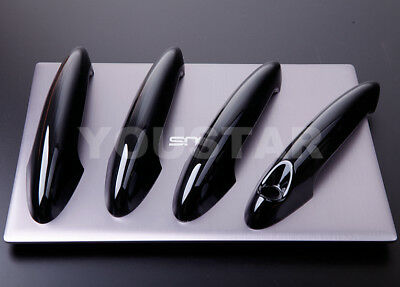 PERFECT FIT UK GLOSS BLACK Door Handle Covers 10-16 MINI Cooper S R60 COUNTRYMAN
