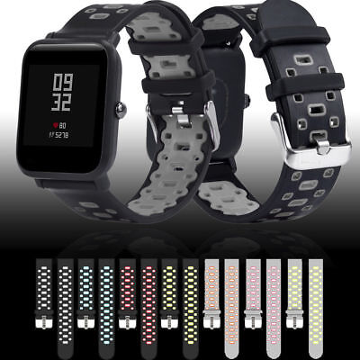 Replacement Sport Silicone Wrist Band Strap for Amazfit Bip Youth Watch