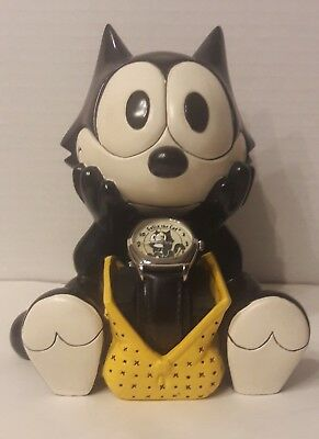 Fossil Limited Edition Felix The Cat Watch and Figurine Holder
