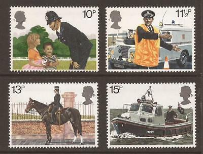GB 1979 SG1100/1103 150th Anniv of Metropolitan Police Set MNH (WJ767)