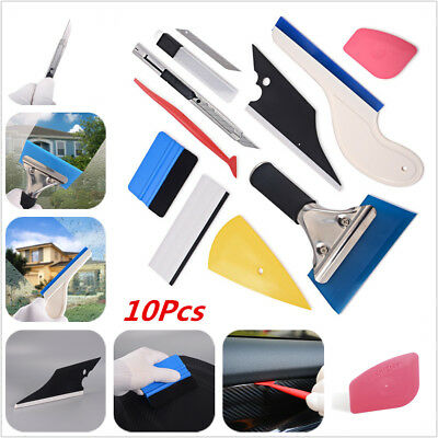 Car wrapping Window Tint Vinyl Wrap Sticker Carbon Fiber Foil Squeegee Film tool