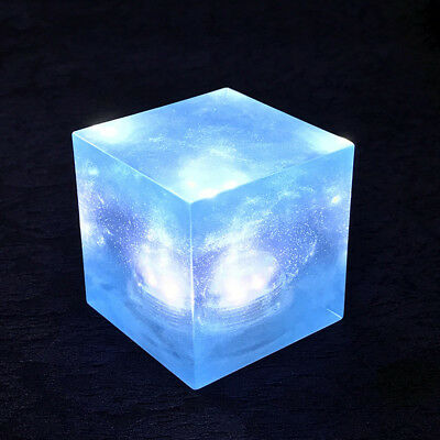 Avengers Tesseract Cube Marvel Infinity War Thanos Led Cosplay Prop XMAS Gift