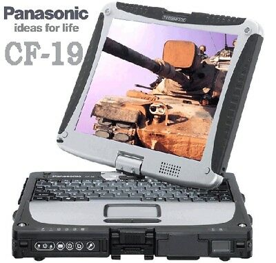 Panasonic Toughbook CF-19 MK4 Intel Core i5  1,20 GHz 4GB  TOUCHSCREEN GPS UMTS