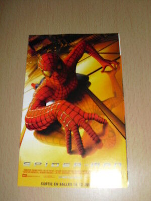 SPIDER-MAN flyers Canal+ Marvel 2002
