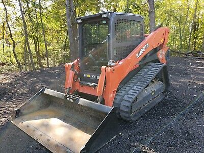 2016 Kubota Svl 95-2 Skid Steer Track Loader, A/c  Heat New Tracks 500 Hrs