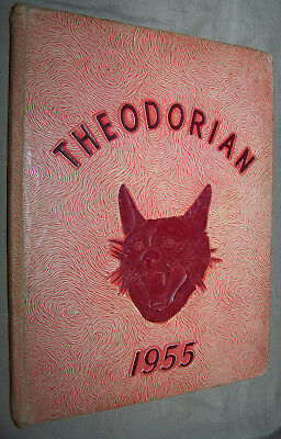 VINTAGE 1955 Theodorian Yearbook Annual Theodore Alabama Grade 1st - 12th Mobile