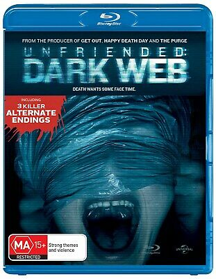 Unfriended Dark Web Blu-ray Region B NEW