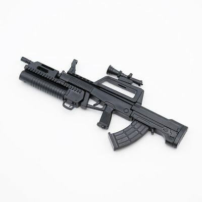 "QBZ95 Weapon Automatic Rifle For 1/6 Army Scale12"" Action Figure 1:6 Model Toy"
