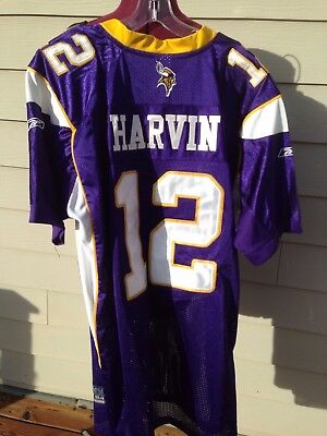 Percy Harvin 12 Minnesota Vikings Nfl Stitched Reebok Onfield Jersey Men 54 1db9d51cd