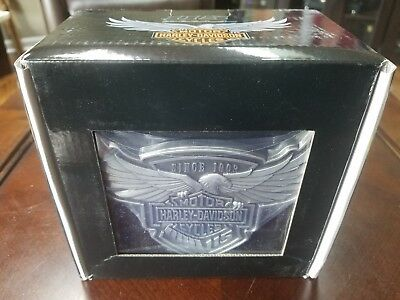 Harley-Davidson 115th Anniversary Trailer Hitch Cover, 2 Inch HDHC115 New in Box