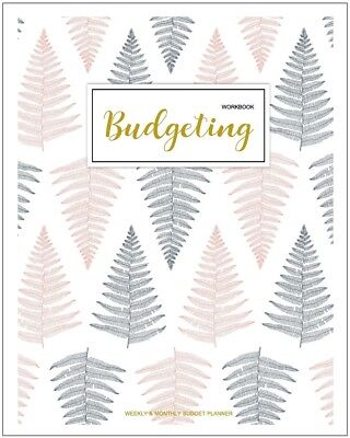 Budget Expense Workbook Monthly Planner Bill Organizer Weekly Finance Journal