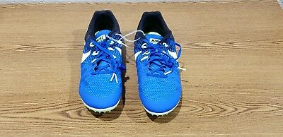 size 40 90155 ff550 New Nike Zoom Rival M 8 Mens Multi-Use Track Spikes Mid Distance Shoe Blue