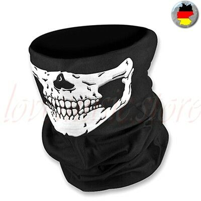 Scull Scarf Mask Face Neck Protection Headscarf Bicycle Headband Gesichtschutz