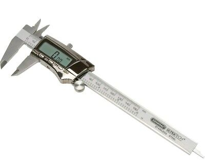 "General Tools, 147, 6"" Digital Fractional Stainless Steel Caliper"