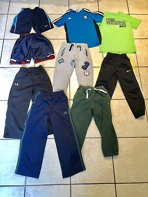 Boy's Athletic Lot 9 pieces 4-5 Under Armour Nike Polo Adidas H&M Pants fall