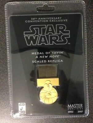 Star Wars Medal Of Yavin Master Replica Scaled Replica 1:2 A New Hope