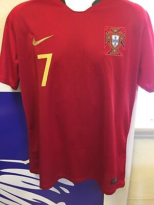 ab3dd9b56f4 Portugal World Cup Nike Jersey Cristiano Ronaldo #7 Adult Medium/Large Home  Jrsy