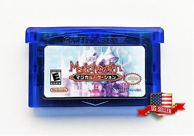 Magical Vacation GBA English Fan Translation Nintendo Game Boy Advance US Seller
