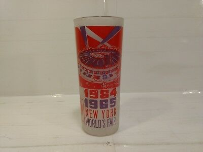 1964-1965 New York World's Fair Circus Drinking Glass hd418