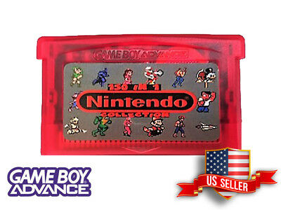150 in 1 NES Classics Nintendo Gameboy Advance Multicart (USA Seller -Fast Ship)