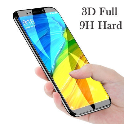 For Xiaomi Redmi 5/Plus/5A Full Cover Curved Tempered Glass Screen Protector-RO