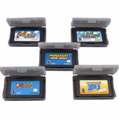 Super Mario Kart Party Luigi 1/2/3/4 Cartridge Game Boy Advance GBA SP NDS NDSL