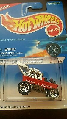 1995 HOT WHEELS 1996 FIRST EDITIONS SERIES RADIO FLYER WAGON #5 of 12