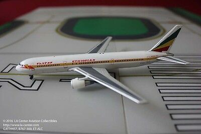 Gemini Jets Ethiopian Airlines Boeing 767-300ER in Old Color Diecast Model 1:400