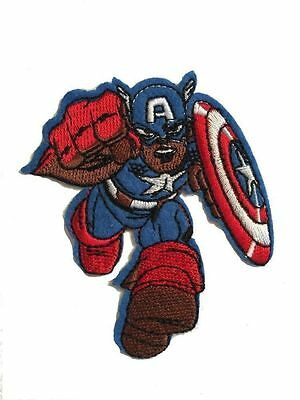 Marvel Comics (Avengers) Captain America Embroidered iron on PATCH/Applique