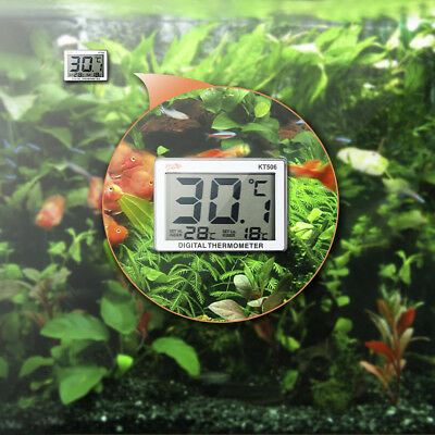 Mini LCD Digital Fish Tank Aquarium Thermometer Water Temperature Meter SS