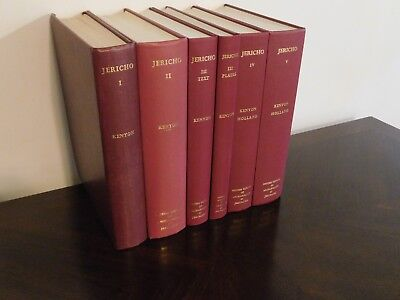 Excavations at Jericho - Kathleen Kenyon (Five volumes in six books). Monumental