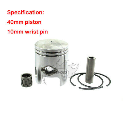 Scooters 43cc Piston Kit 40mm wrist pin 10MM for stand up