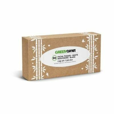 Greencane Paper 2Ply Facial Tissues Single (Pack of 2)