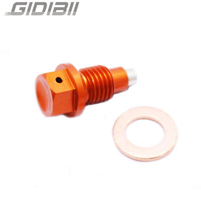 125-530 Engine Magnetic Oil Drain Plug Bolt For KTM SX EXC EXCF SXF XC XCW XCF