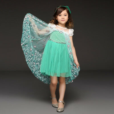 Girls Christmas Dress Holiday Birthday Party Dress Fancy Cosplay Costume Outfit