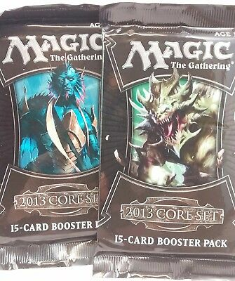 Magic Gathering M13 CORE 2013 SET BOOSTER BOX PACK (LOT OF 5) MTG FACTORY SEALED