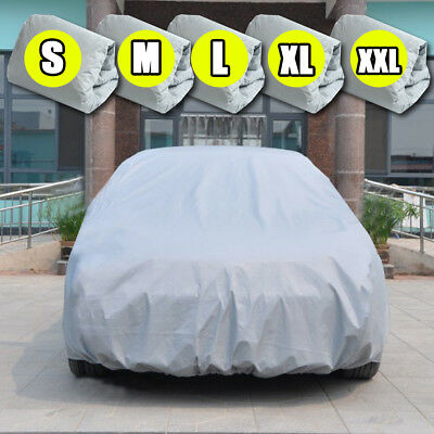 Universal Full Car Cover Waterproof Anti Scratch UV Resistant Dust Rain Proof AU