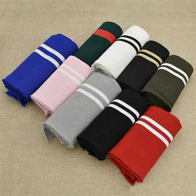 67969a4fa79 Tubular Cuffing 1x1 Acrylic Knitted Rib Cuffs Collars Waistband Fabric  Material. £4.99 Buy It Now 7d 16h. See Details. Cotton Elastic Stripes Knitted  Fabric ...