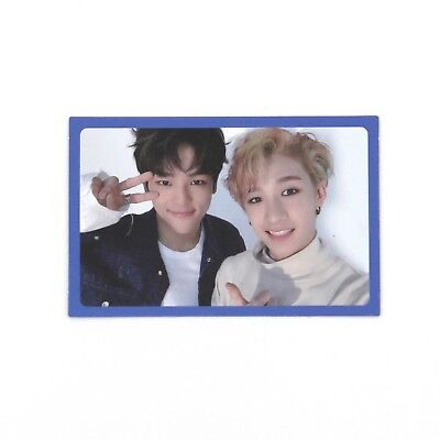 [STRAY KIDS]3rd mini album I AM YOU Official Photocard/B ver./WOOJIN+BANGCHAN/--