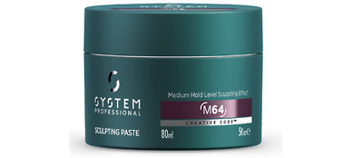 Sculpting Paste Medium Hold LeveL 80ML System ProfessionaL Men