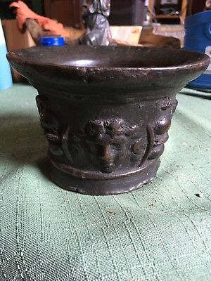 Renaissance Bronze Mörser 16./17. Jh. Mortar post midieval 16th / 17th ct