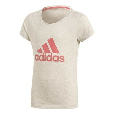 ADIDAS Kinder Shirt Training Logo Tee Mädchen T-Shirt Sport Training, CF7253 /K4