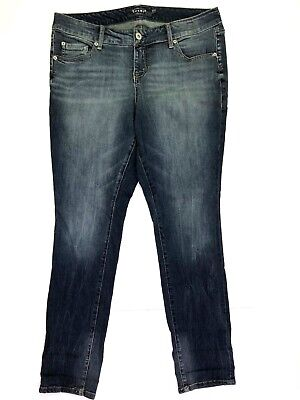 41399fa5adb TORRID BOYFRIEND JEANS Womens 22R Distressed Destroyed LIght Wash ...