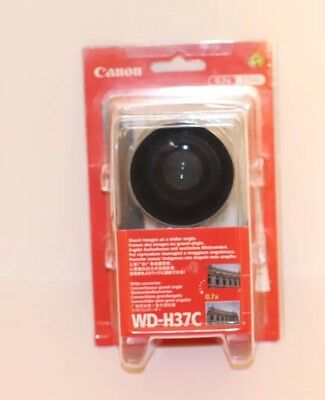 Canon Wide Converter WD-H37C 0.7X Lens w/Pouch In Original Packaging