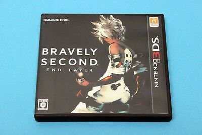 Nintendo 3DS Spiel - Bravely Second: End Layer (NTSC-J) - Komplett in OVP