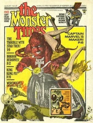 Monster Times 47 Issues Free Shipping  Today