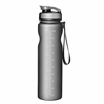 OMORC Sports Water Bottle Running BPA Free Tritan Hard Materials OTGEOD196AH-USAA1 Camping Flip Top Leak Proof Lid One Click Open BPA Free /& Eco-Friendly Tritan Bottle Great for Outdoor Bicycle