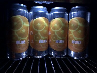 **Free Shipping** Treehouse Brewing JULIUS IPA 4 Collectible Cans FRESH!!