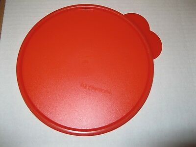 "TUPPERWARE ~ REPLACEMENT LID / SEAL ~ #2517 (same as 228) ""X"" Watermelon 6 3/4"""