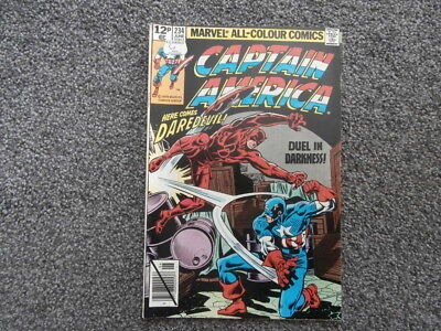 Captain America.  Vol 1 No 234. June 1979.  A Marvel comic.